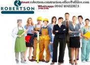 Engenheiros civis, construtores civis