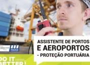 Curso de assistente de segurança portuária