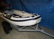 Bote de borracha qboat 230 en Águeda