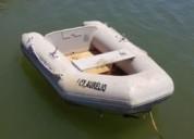 Barco auxiliar ou apoio en faro