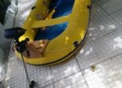 Barco motor electrico proteus com remos en sesimbra