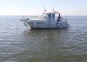 Barco cabinado felco delfyn 595 plus en lisboa
