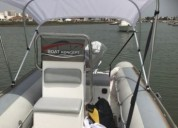 Barco semi rigido en silves
