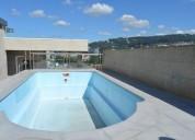 Excelente cobertura com otima exposicao solar piscina e terraco 225 m² m2