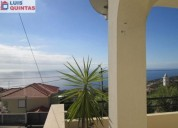 Excelente moradia t3 mobilada soalheira jardim churrasqueira vista mar 200 m² m2