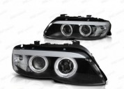 Farois xenon d2s angel eyes ccfl bmw x5 carros