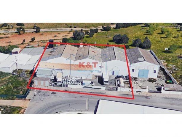 Armazem zona indutrial Parchal 1.000 m2