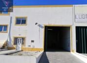 Armazem na zona industrial portalegre 285 m2