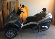 Vendo scooter piaggio mp3 gasolina cor cinzento