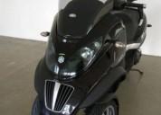 piaggio mp3 ie 2009 carta de carro gasolina cor preto