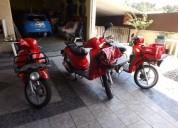 Vendo scooters piaggio liberty gasolina cor vermelho