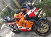 Honda cbr 600 f3 repsol gasolina cor laranja