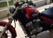 Honda shadow gasolina cor vermelho