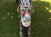 Honda crf 450 cor branco