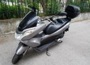 Honda pcx como nova gasolina cor cinzento