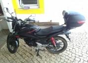 Motociclo honda gasolina cor preto