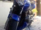 Honda hornet gasolina cor azul