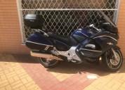moto honda pan european gasolina cor azul
