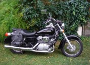 Honda shadow nao e necessario carta de mota cor preto