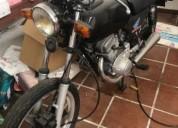 Honda cb 125 t gasolina cor preto