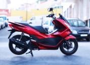honda pcx 125 gasolina cor vermelho
