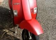 Vespa pk 50 aceito troca por 125 gasolina cor vermelho