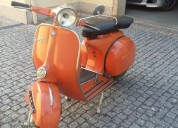 Vespa rally 180 ano 1969 cor laranja