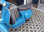 Vespa 50s ano 1974 gasolina cor azul
