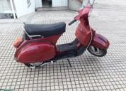 Vespa px 125 gasolina cor vermelho