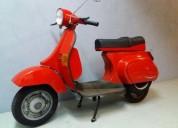 Vespa pk 50 xls gasolina cor vermelho