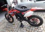 Mikilon 125 4t gasolina cor vermelho