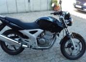 moto honda cbf gasolina cor preto