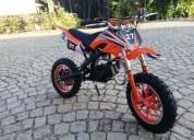 mini motas novas gasolina cor laranja