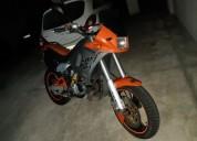 Cagiva supercity 125 gasolina cor laranja