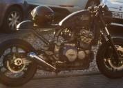 Triumph trophy cafe racer gasolina cor preto