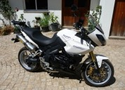 Triumph tiger 1050 para vender gasolina cor branco