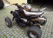 Moto 4 matriculada gasolina cor preto