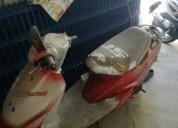 Scooter para pecas sem documentos gasolina cor vermelho
