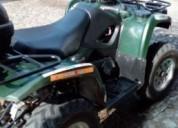 Moto 4 4x4 suzuki gasolina cor verde
