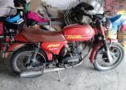 Famel zundapp ks 50 de 1997 para restauro gasolina cor vermelho