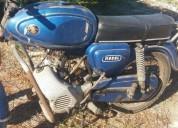 Zundapp macal m70 de 1977 gasolina cor azul