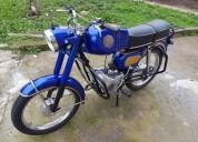 Zundapp diana gasolina cor azul