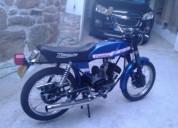 Famel restaurada profissionalmente gasolina cor azul