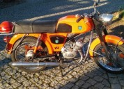 Sachs v4 ciclone gasolina cor laranja