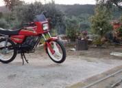 Sachs fuego gasolina cor vermelho