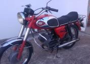 motorizada sachs efs super gt 1985 gasolina cor vermelho