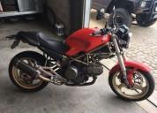 Ducati monster como nova gasolina cor vermelho
