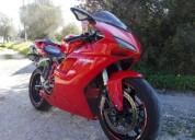 Ducati 1098 gasolina cor vermelho