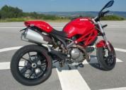 Ducati 796 monster gasolina cor vermelho