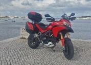Ducati multistrada 1200 s touring gasolina cor vermelho
